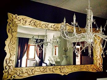 Cornici In Polistirolo Per Specchi.Cornici