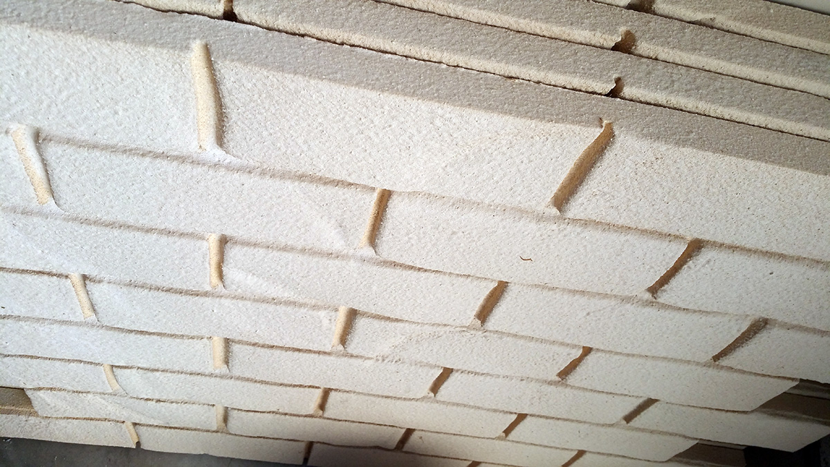 Mattoni Bianchi Per Esterni sistemi di isolamento termico: finto mattone in polistirolo