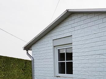 Mattoni bianchi per esterni struttura del muro di mattoni bianchi elegante con alta risoluzione - Piastrelle finto mattone ...